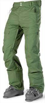 Grenade Snowboard Pants Size Chart Wearcolour Tilt Snowboard Ski Pants M Olive