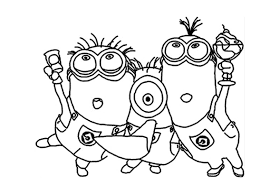 Small Picture To print coloring minions 1 click on the printer icon at the