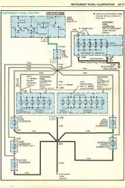 wiring diagrams instrument panel lights