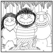 Small Picture Where The Wild Things Are Coloring Pages GetColoringPagescom