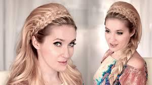 Headband Hair Style braided headband hairstyle tutorial for mediumlong hair 60s 4726 by wearticles.com