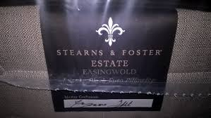 stearns and foster estate. Stearns \u0026 Foster Estate Easingwold Luxury Plush Euro PIllowtop King Mattress And T