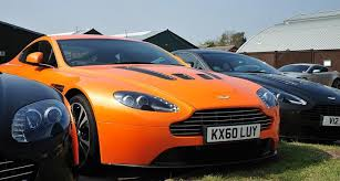 2011 Aston Martin V12 Vantage Day At Works Service Newport Pagnell Classic Driver Magazine