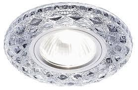 Купить Встраиваемый <b>светильник Ambrella light S288</b> CH, хром ...