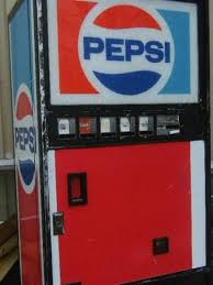 Pepsi Vending Machine Commercial New Old School Pepsi Machine And The Soda Came In Glass BOTTLES