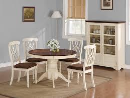coaster furniture 103180 cameron round dining table ermilk dark cherry