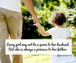 Fathers Day Quotes From Daughter Simple Happy Father's Day Quotes From Daughter SayingImages