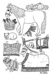 Small Picture osiris pony paper doll coloring page Coloring pages Pinterest