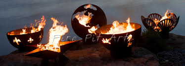 fire pit art. Hand Crafted Fire Pits, Bowls And Globes Pit Art 1