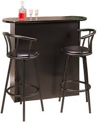 bar and bar stools. Ashley Furniture Bar Stools Black And