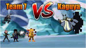 Team 7 VS Kaguya - Bleach Vs Naruto 3.3 (Modded) - YouTube