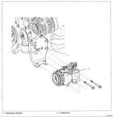kia amanti removing compressor air conditioning problem  remove the belt hoses unplug the wires and remove the 4 bolts from the side please follow this guide for more information