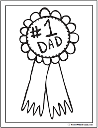 award father s day coloring page number one dad fathersdaycoloringpages and kidscoloringpages at