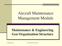 Ppt Aircraft Maintenance Management Module Powerpoint