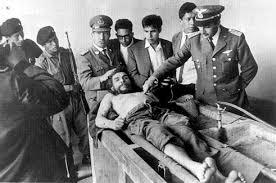 che guevara tour travel trans americas journeytrans photo of che guevara body being displayed in vallegrande hospital laundry credit freddy