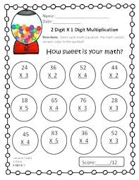 3 Digit Times 2 Digit Multiplication Systosis Com