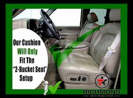 2000 2002 chevy tahoe suburban lt ls z71 replacement seat foam cushion driver bottom