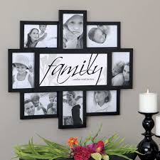 picture frame wall ideas fresh felicite 8 family frame collage wall frame