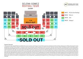 Selena Gomez Seating Chart Announcement Selena Gomez The Revival Tour Live In Malaysia