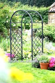 garden archway for the rose arch metal garden arches black metal garden arbour garden archway