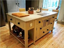 Large Free Standing Kitchen Island For Sale