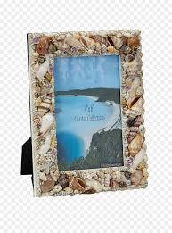 picture frames seashell glass beach seashell frame