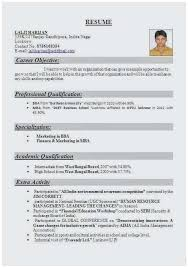 career objective for mba resumes mba resume sample perfect examples objectives for resumes unique