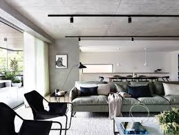 replace fluorescent light fixture with track lighting black