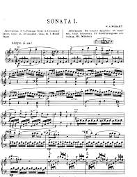 mozart piano sonata sheet music piano sonata no 16 in c major k 545 mozart wolfgang amadeus
