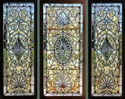 salvaged stained glass doors windows