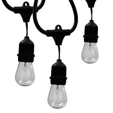 Heavy Duty String Lights Outdoor Indoor Edison Style String Lights Commercial