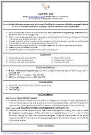 Best Sample Resume For Freshers Engineers Image Result For The Best Cv Sample Doc Mechanical