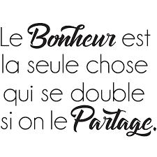 Sticker Citation Le Bonheur Est La Seule Chose Stickers Stickers
