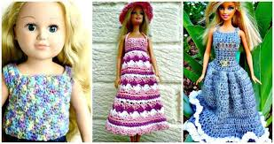 Free Crochet Barbie Doll Clothes Patterns