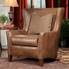 chair wing lounge chair tan leather wingback armchair leather wing chairs for leather wingback chair