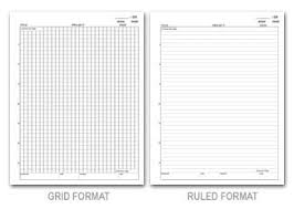 Lab Notebook Format Student Wire O Lab Notebooks