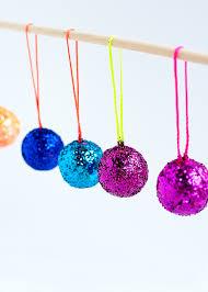 Mini Disco Ball Decorations DIY Mini Disco Ball Christmas Ornaments christmas diy decor 42