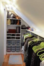 Small Picture Closet designer Jamie Bevec transformed a crawl space off her