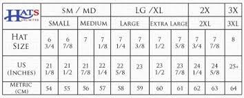 Hat Size Conversion Chart Unisex Sizes Conversion Chart Pictures And Ideas On Pretty