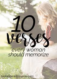 10 Bible Verses Every Woman Should Memorize Biblical Quotes La