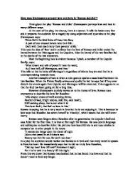 how does shakespeare present love and hate in romeo juliet william shakespeare acircmiddot romeo and juliet page 1 zoom in