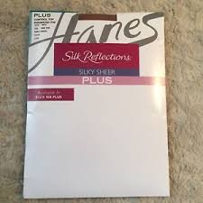 Details About Hanes Silk Reflections Silky Sheer Control Top Enhanced Toe Plus Size 3 Plus B8