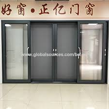 grey aluminium sliding door china grey aluminium sliding door