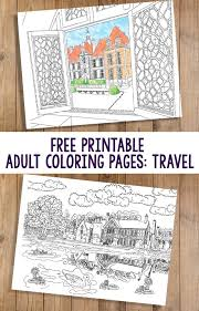 Small Picture Free printable adult coloring pages Travel