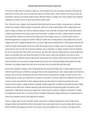 College Vs High School Essay Compare And Contrast Compare And Contrast Essay Compare And Contrast Comparison