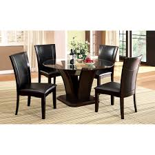 Glass Dining Table Set 4 Chairs Dining Table Glass Top Dining Table Set 4 Chairs House Design Ideas