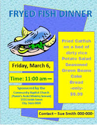 Fish Fry Flyer Microsoft Office Fish Fry Flyer Microsoft Office Free Download