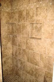 recessed tile shelf bathroom shower tile custom tile shower w recessed shelf