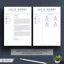 Modern Resume Sheet Modern Resume Template And Cover Letter Cv Template Professional And Creative Resume Teacher Resume Nurse Resume Resume Template Word