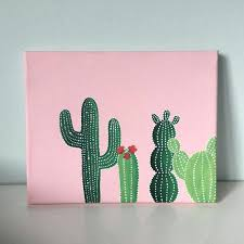 Easy paintings on canvas Cool Best Canvas Art Ideas On Painting Canvas Art Ideas Pink Green Cactus Canvas In Canvas By Netyeahinfo Best Canvas Art Ideas On Painting Canvas Art Ideas Pink Green Cactus